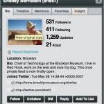 Shelley Bernsteins Twitter Account