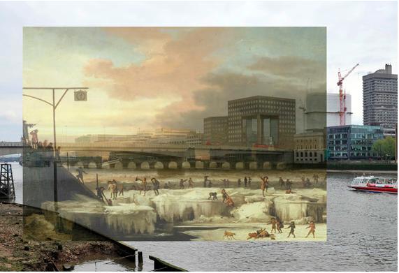 Beispiel-Fotomontage aus dem Streetview-iApp aus dem Blog-Artikel von Techvert.com