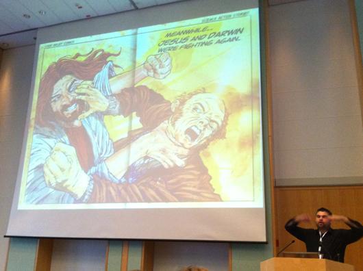 breitenbach: jesus vs darwin