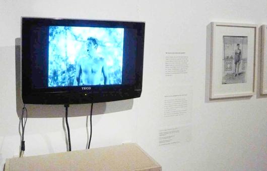 Der Tarzan-Schrei in der Ausstellung Grazgeflüster im Stadtmuseum Graz, 2011 (Foto: Beat Gugger)
