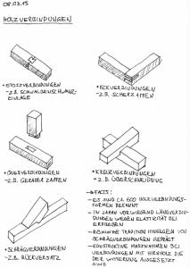 Holz › Holzverbindungen / Holz und Klang
