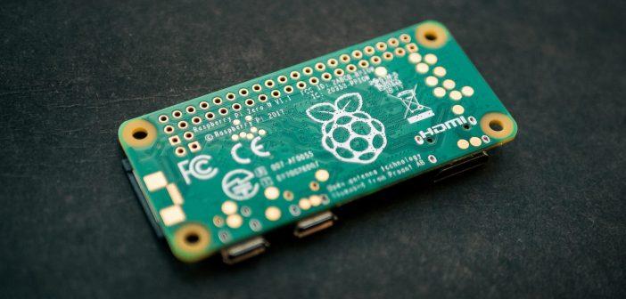 Abbild der Platine eines handelsüblichen Raspberry Pi