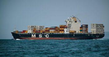Container Schiff MSC