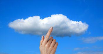 Cloud mit Finger