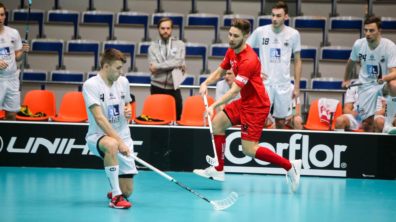 Marcel Kramelhofer kämpft mit Österreichischen Nationalmannschaft um eine WM-Qualitifkation.