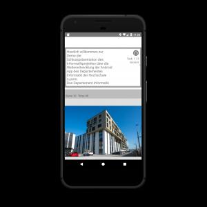 Android-App der HSLU I