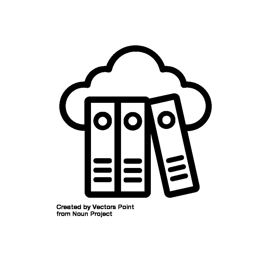 Icon Daten managen